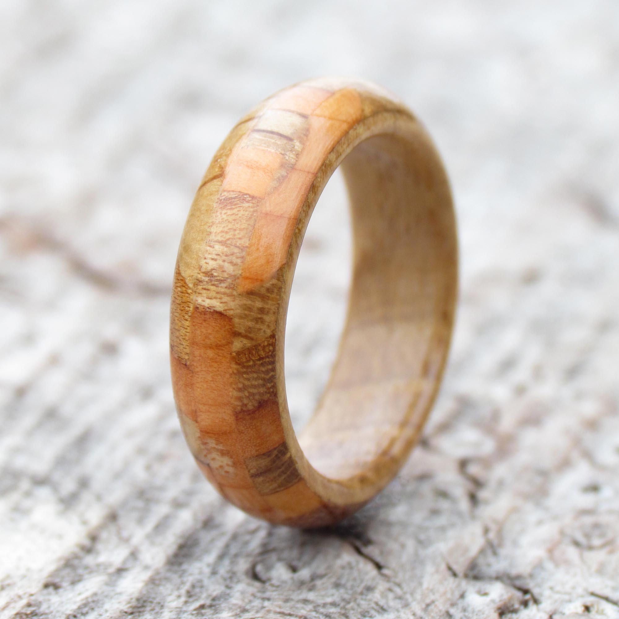 Collection Of Scottish Wood Ring