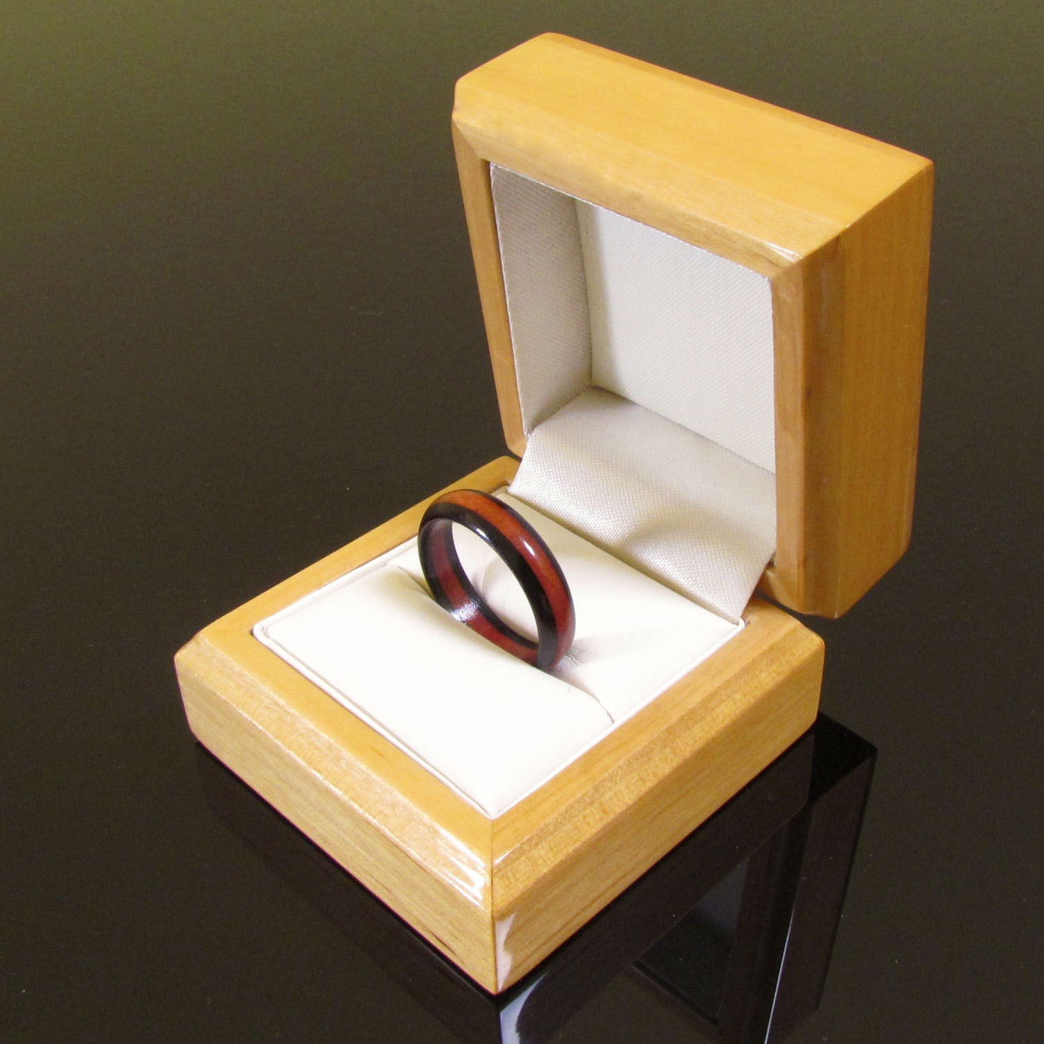 wooden wedding ring boxes