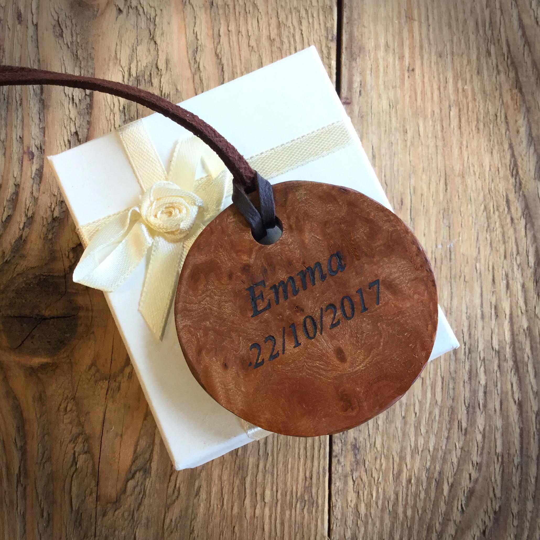 Personalised Wooden Jewellery
