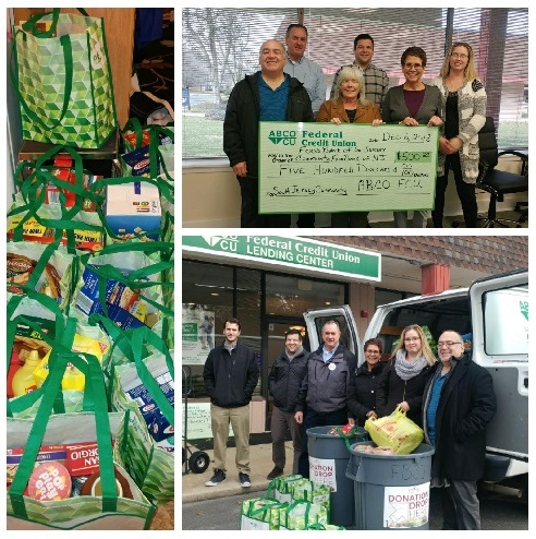 ABCO Community Donates to South Jersey Food Banks