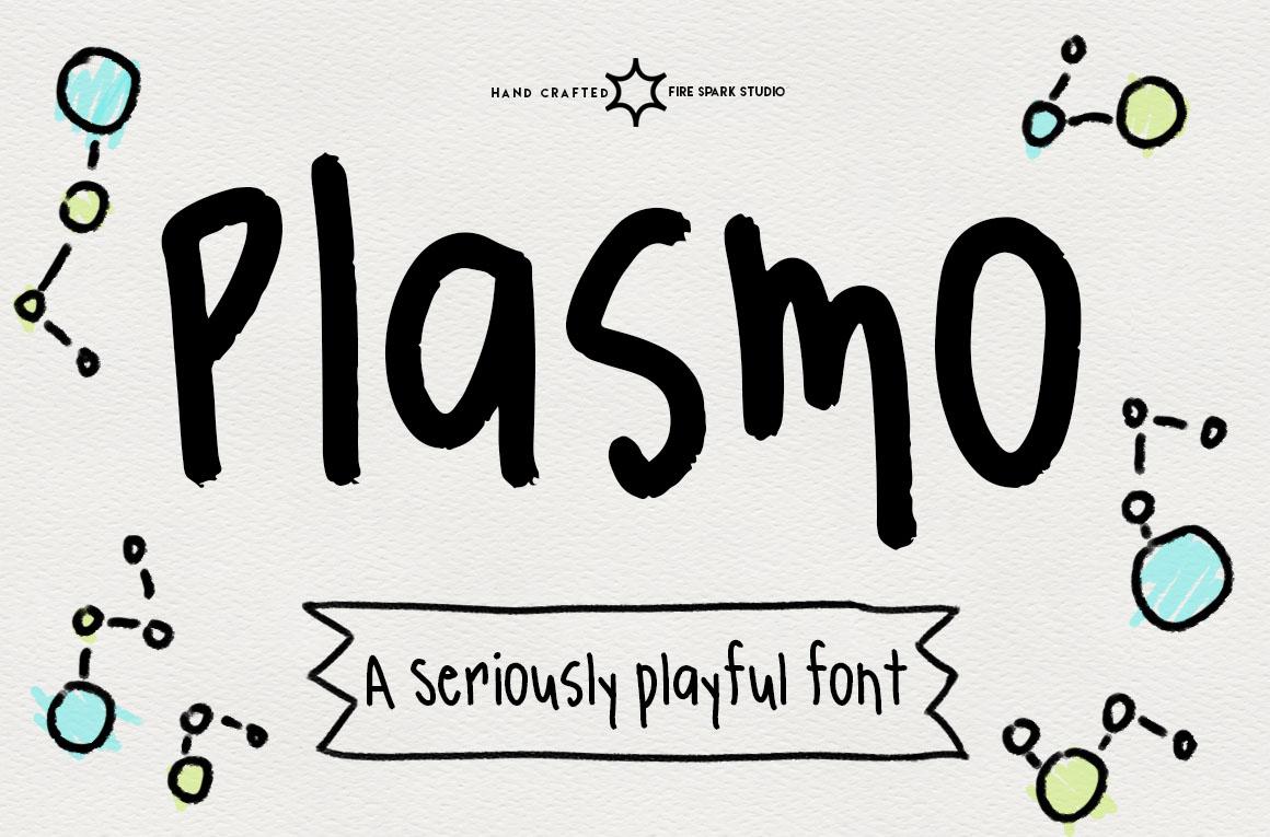 Plasmo Handwritten Font - $8+