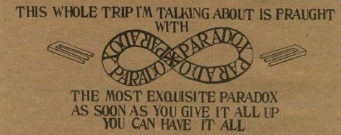 Ram Dass Paradox