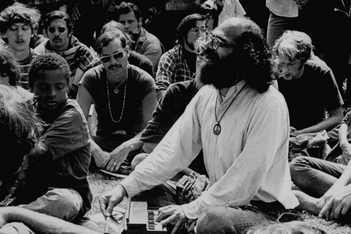 The Bearded Baba, Allen Ginsberg