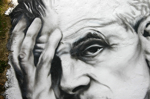 Aldous Huxley Portrait