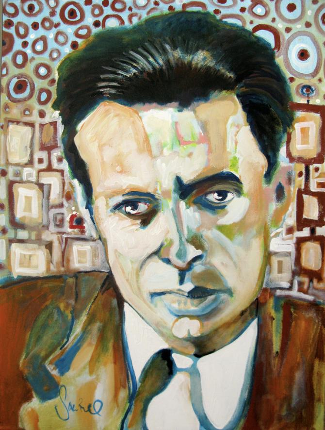 Portrait of Aldous Huxley