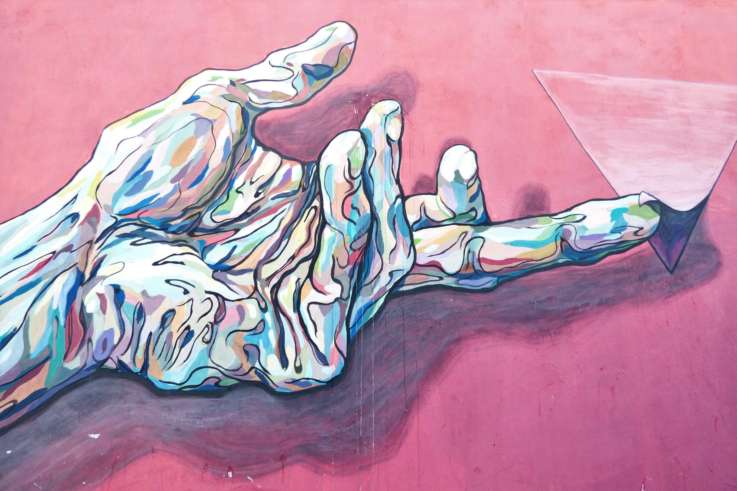 Gustavo Centurion Psychedelic Hand