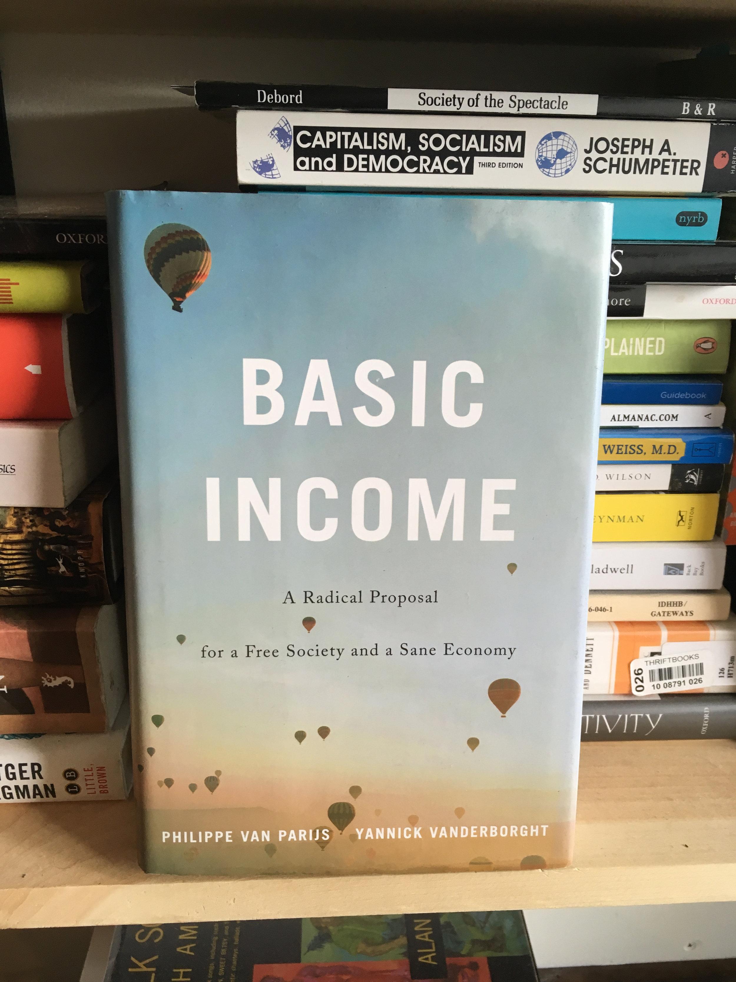 Basic Income - Philippe Parijs & Yannick Vanderborght