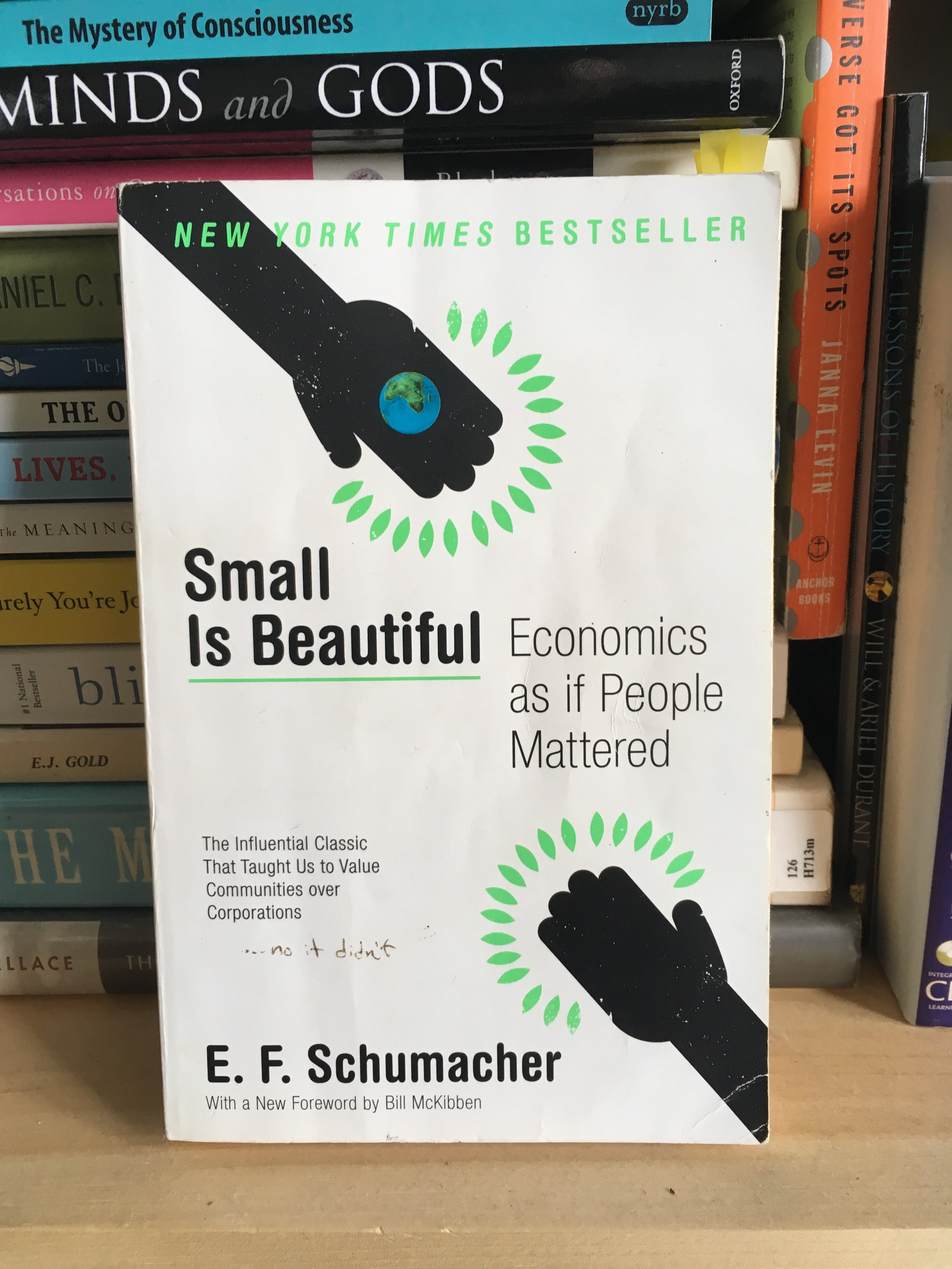 Small Is Beautiful - E.F. Schumacher