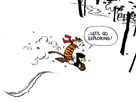 Sometimes, I suspect Bill Watterson knows everything.