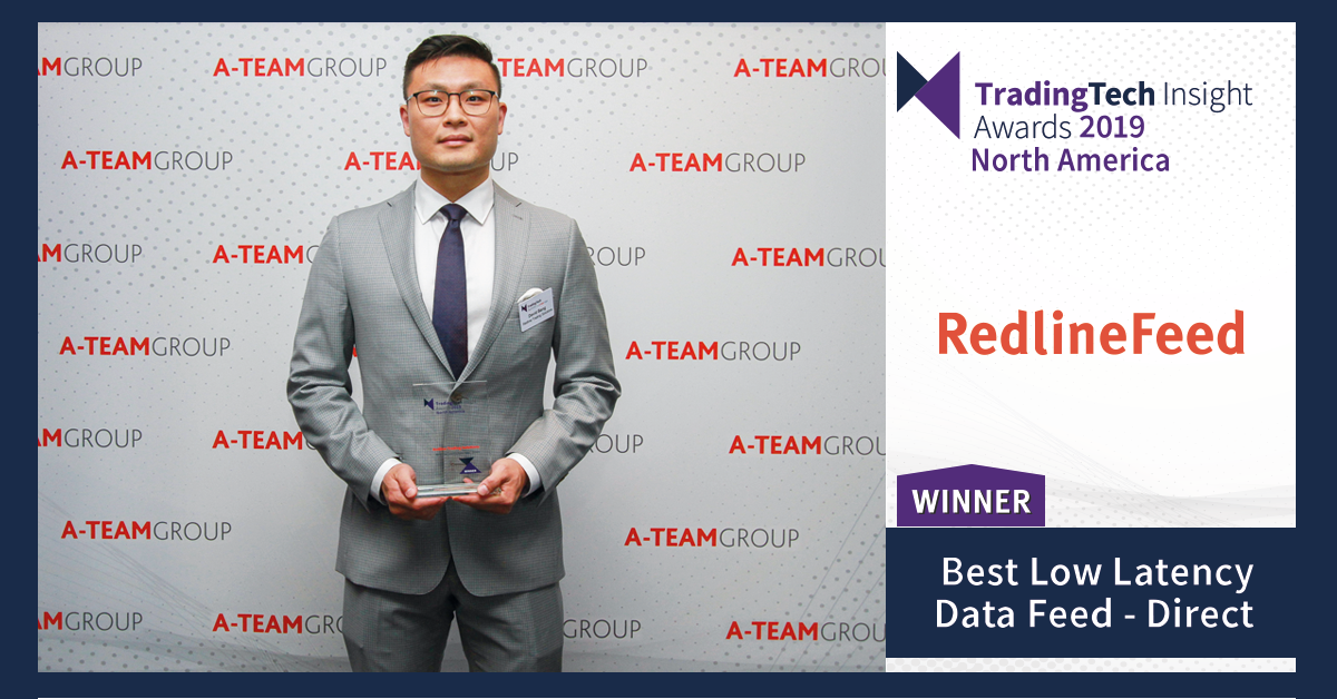 David Bang, Vice President of Managed Services at TradingTech Insight Awards 2019 North America