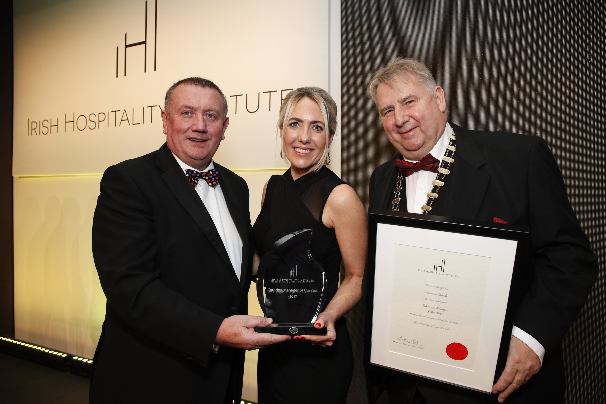 Leonora Quirke, Operations Director at Masterchefs Hospitality named as Catering Manager of the Year