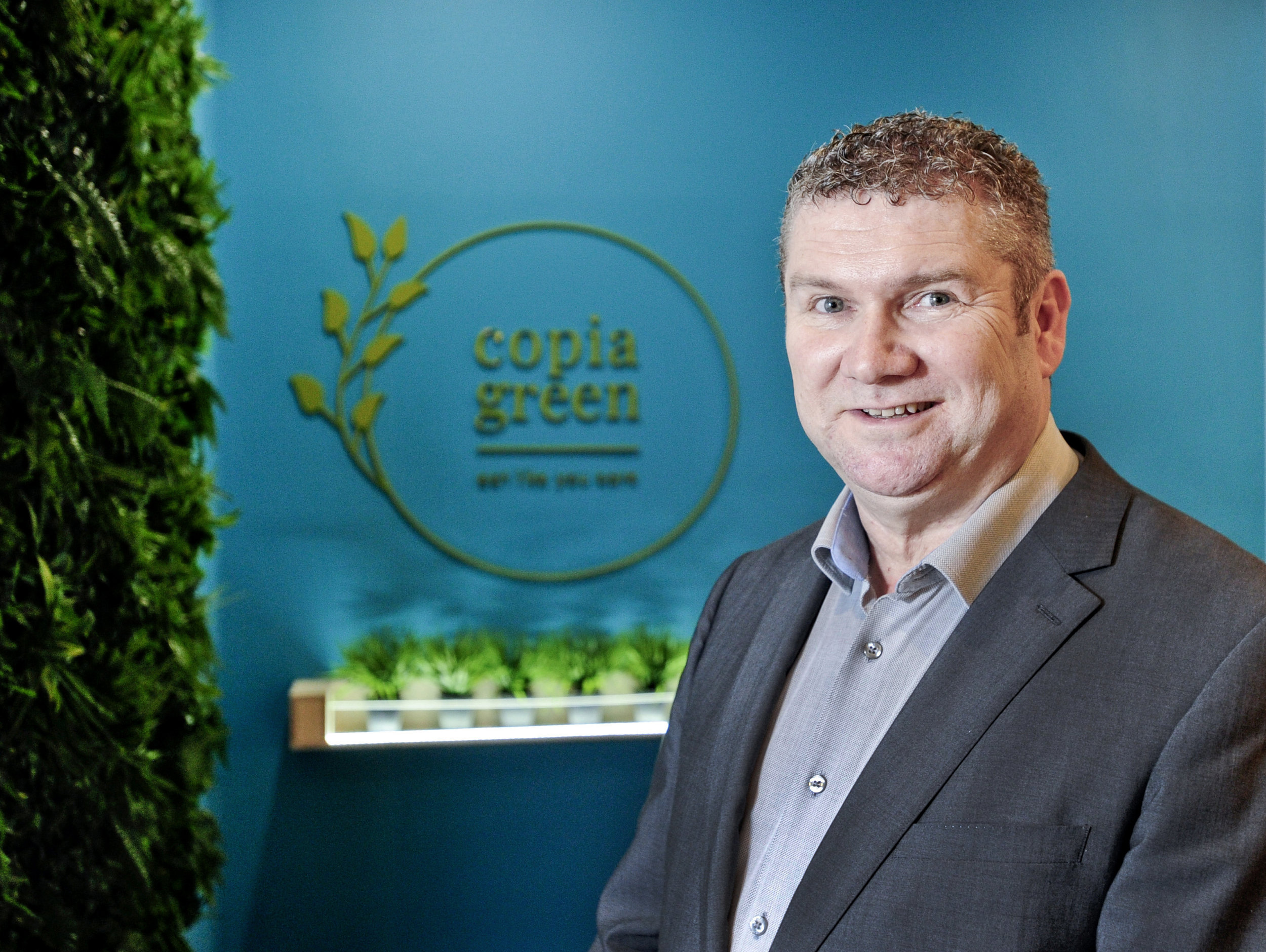 Copia Green is the brainchild of Pat O'Sullivan, Owner and Managing Director of Master Chefs