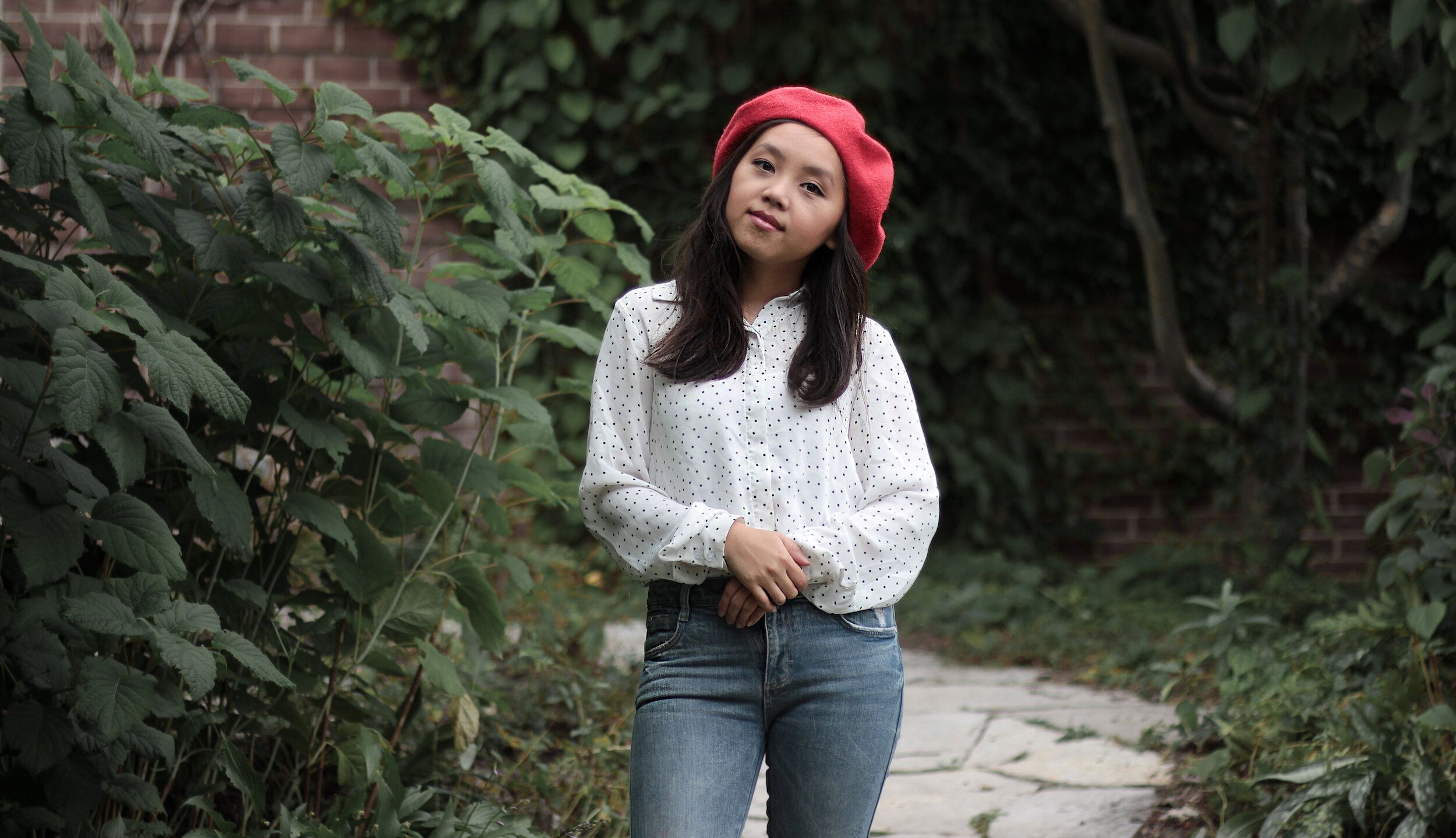 red beret 05 outfit - petite fashion blogger.jpeg