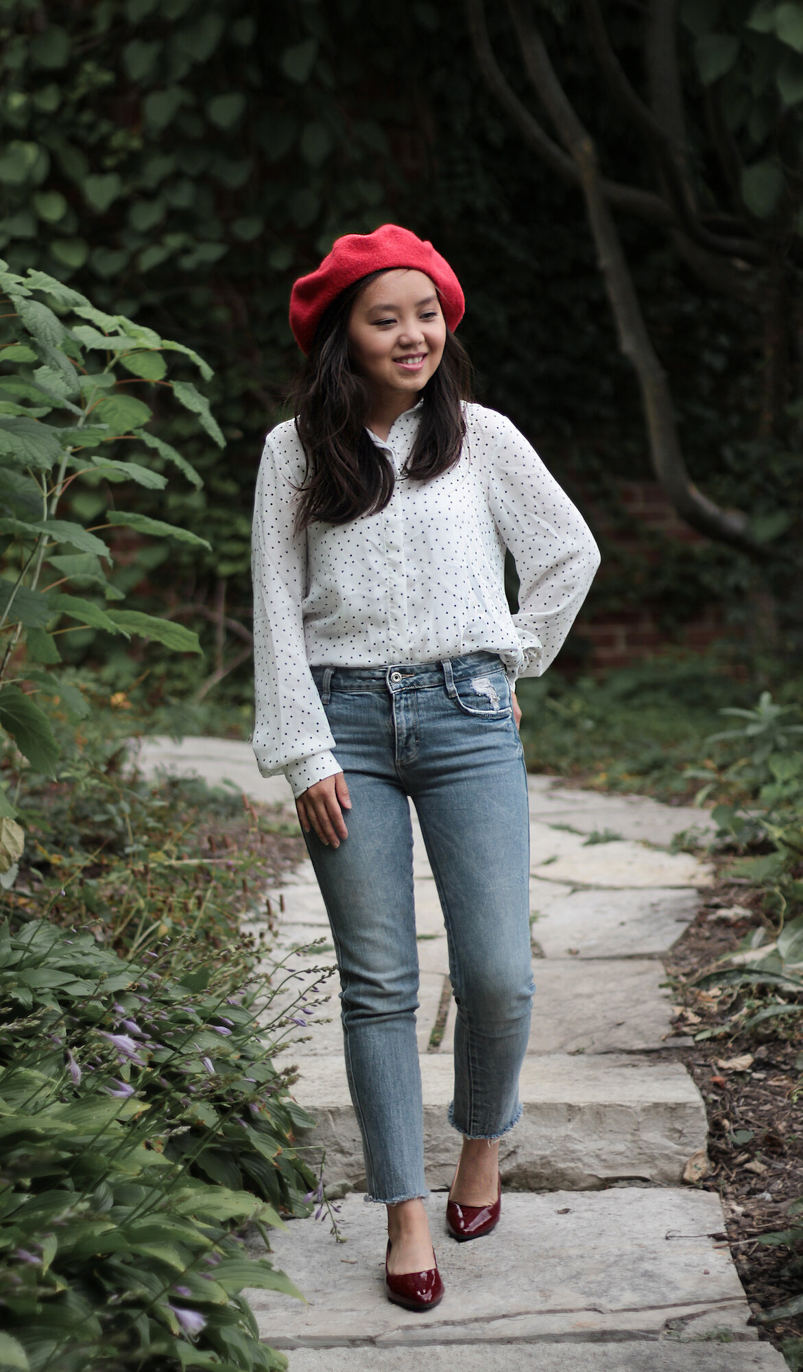 red beret 04 outfit - petite fashion blogger.jpeg