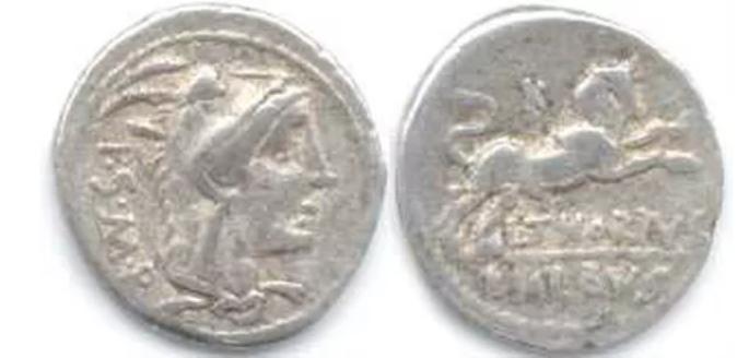 Silver denarius