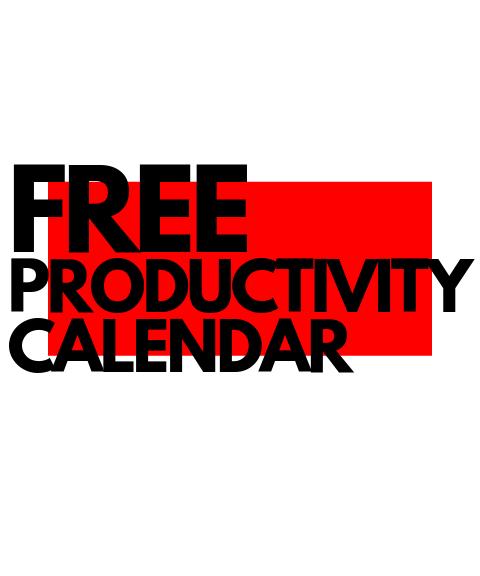 productive calendaring