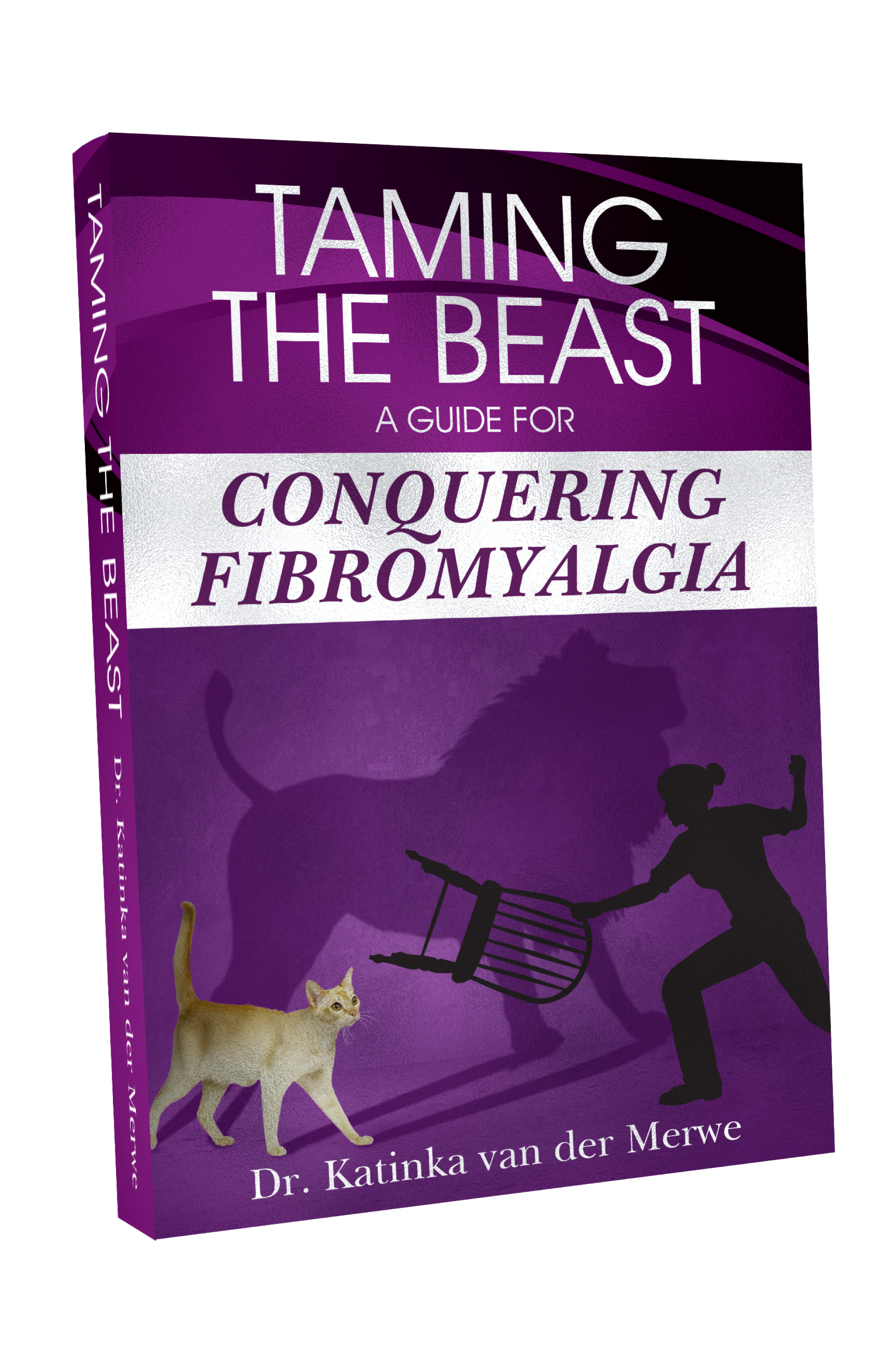 "conquering fibromyalgia - Fibromyalgia is a complicated, vicious beast. It methodically steals your quality of life, robs you of sleep, and submerses you in terrible daily pain and debilitating fatigue.The cause of it is a mystery and it is deemed incurable. The traditional medical approach to this condition is to manage it by taking medications to cover up the pain and symptoms associated with fibromyalgia. Van de Merwe discusses the role of the nervous system and how malfunction causes fibromyalgia.Lastly, she highlights positive actions patients can start taking today to help measure and address the neurological, physical, and chemical symptoms associated with fibromyalgia. Dr. Katinka's aim is to help readers conquer this neurologic disorder and ""tame the beast""."