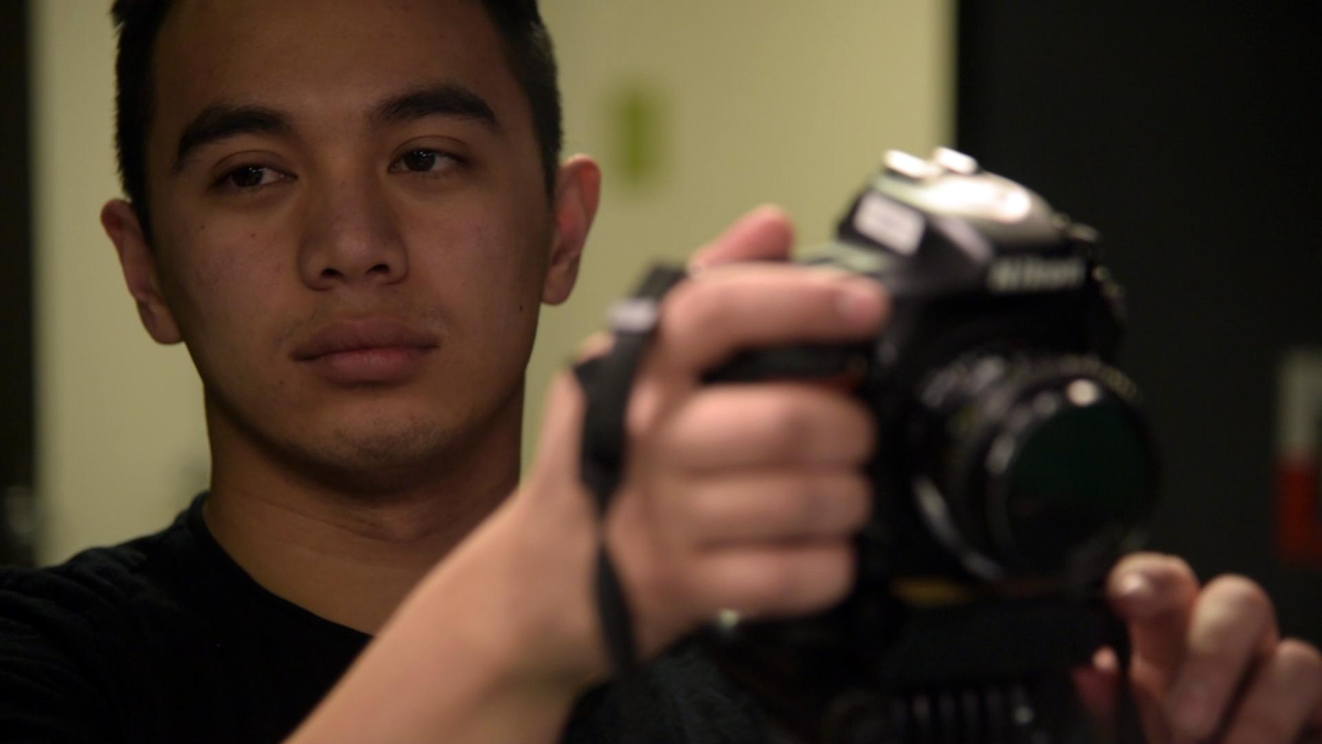Gabriel Kotico behind the scenes on the set of Geena Matuson's (@geenamatuson) film shoot, 2019. Cinematography by Matthew DeVirgilio. See more @ geenamatuson.com.
