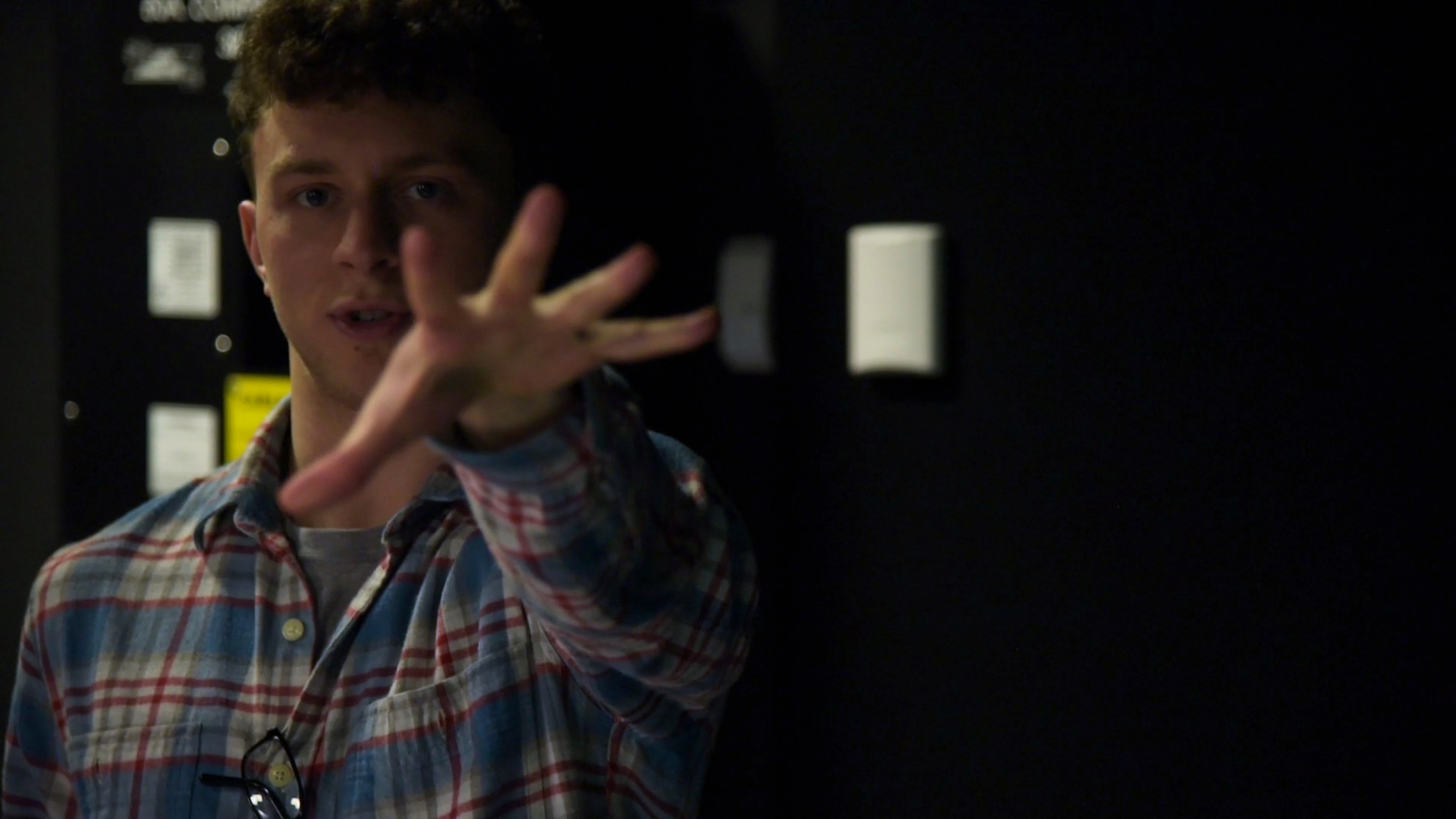 Gabriel Stuart behind the scenes on the set of Geena Matuson's (@geenamatuson) film shoot, 2019. Cinematography by Matthew DeVirgilio. See more @ geenamatuson.com.