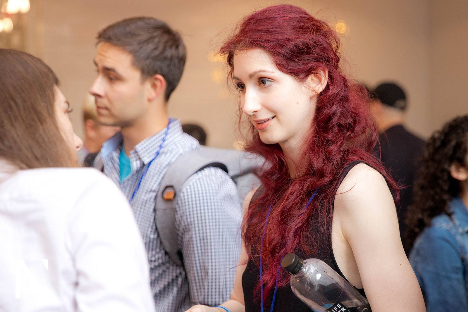 Geena Matuson (@geenamatuson) at the June, 2019 Next Gen Summit #NGS2019 in NYC.
