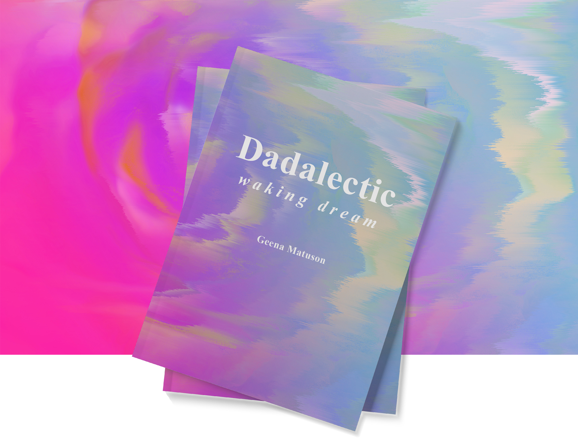 First book by Geena Matuson, Dadalectic: Waking Dream features dreamy artworks and poetic stories in this surreal work. Gets yours @ http://dadalectic.com.