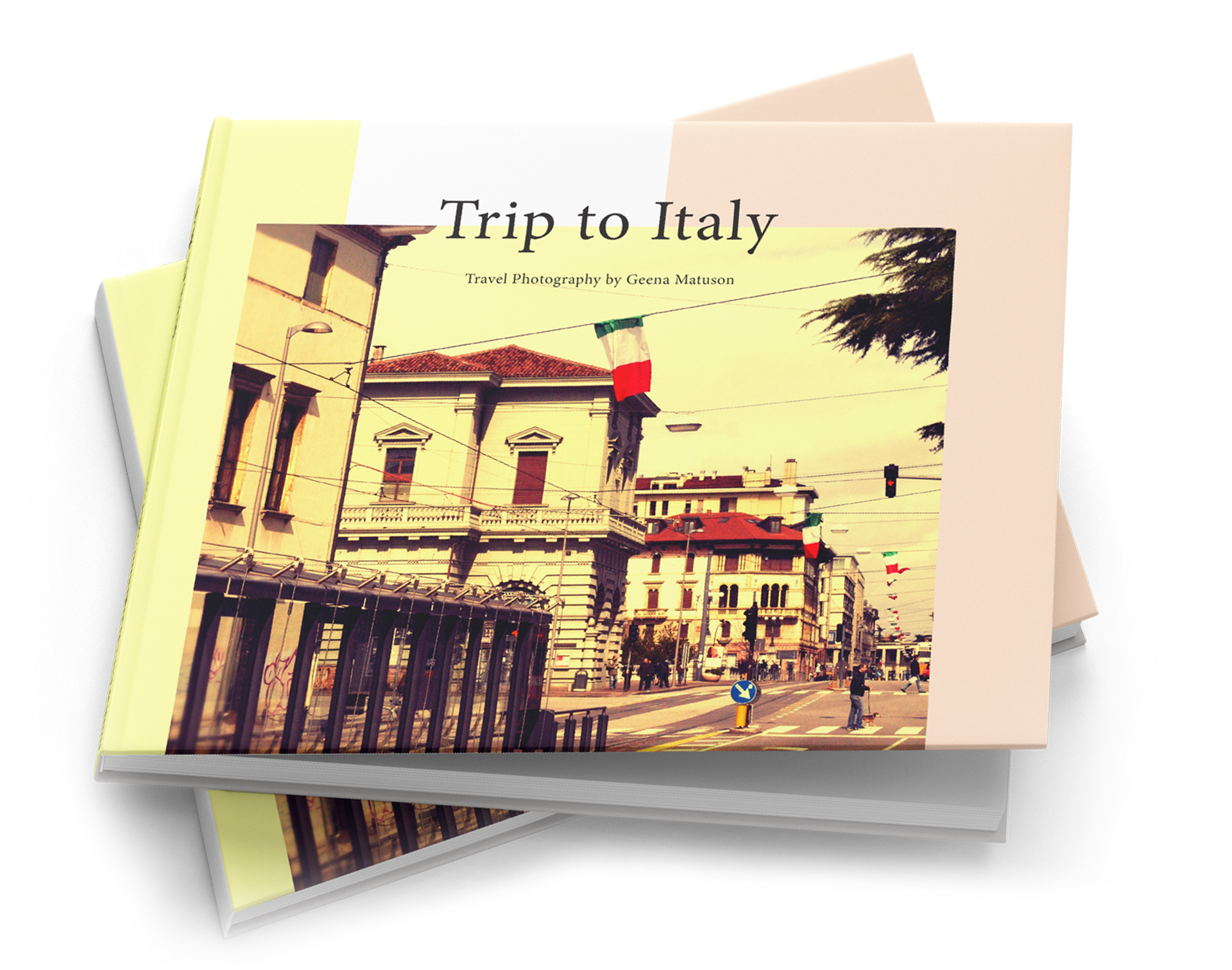 "Geena Matuson shares her travel photography and also her editorial design skills with book ""Trip To Italy."""