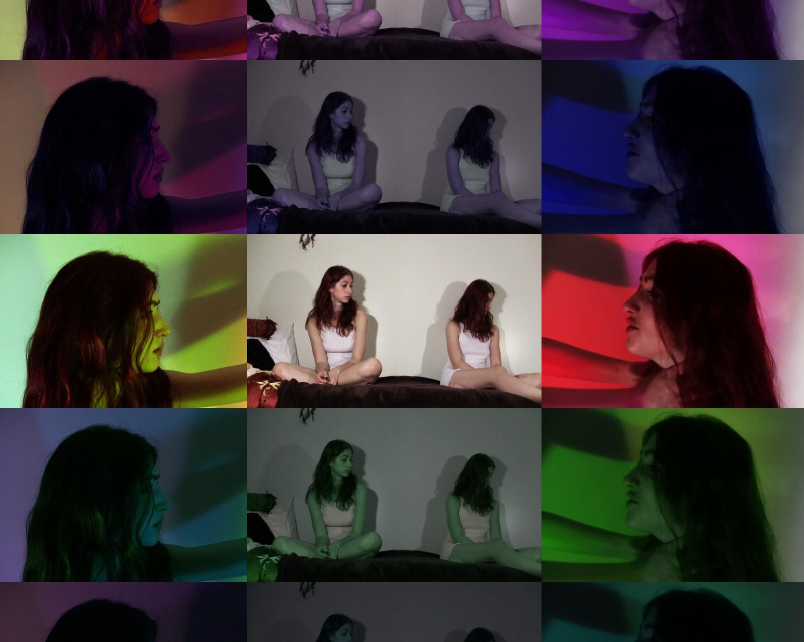 Three-channel video by Geena Matuson (@geenamatuson), 2011.
