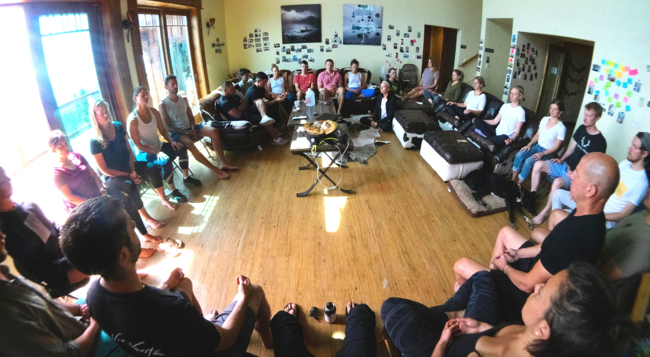 Dry Farm Wines morning Meditation & Gratitude practice