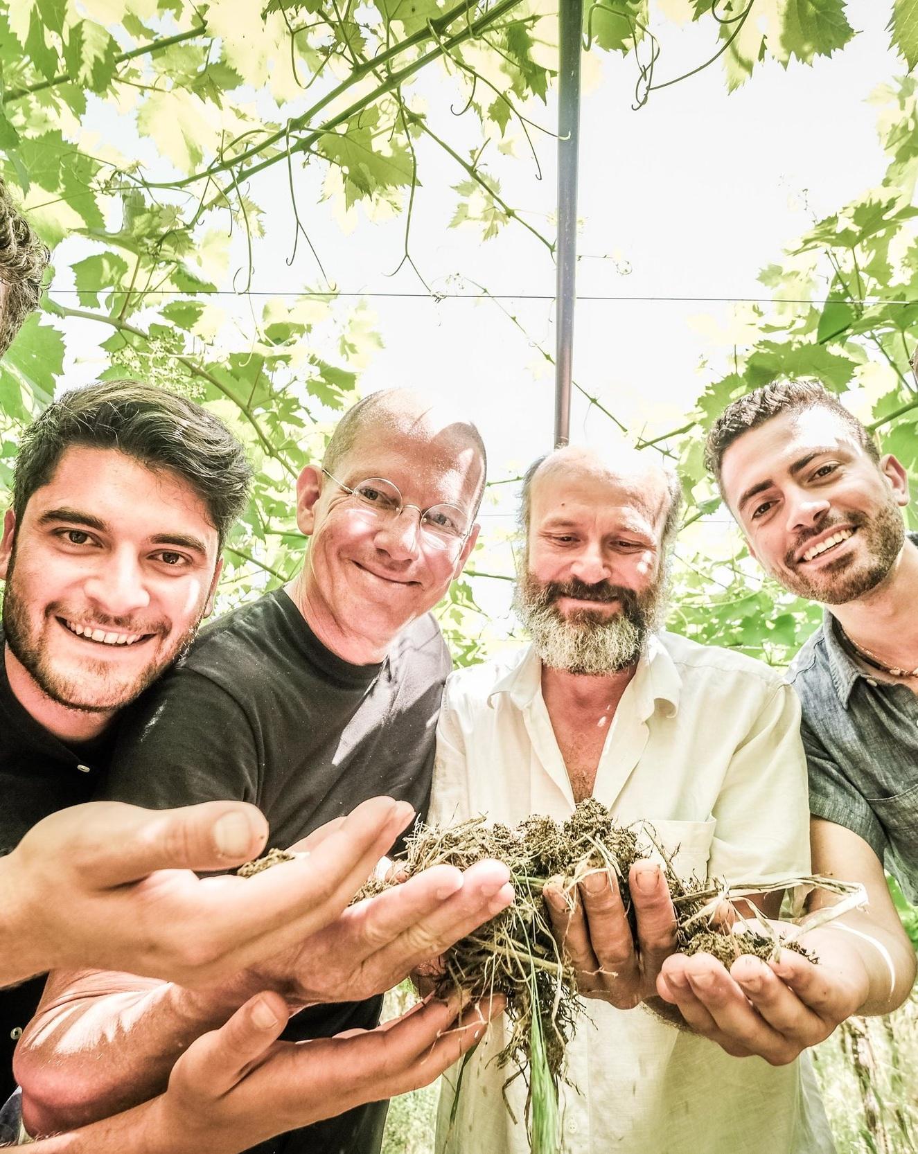 Domineco Dibenedetto, l'Archetipo Todd White, Dry Farm Wines Founder Valentino Dibenedetto, l'Archetipo Ramzy Kahhale, Dry Farm Wines, Wine Program