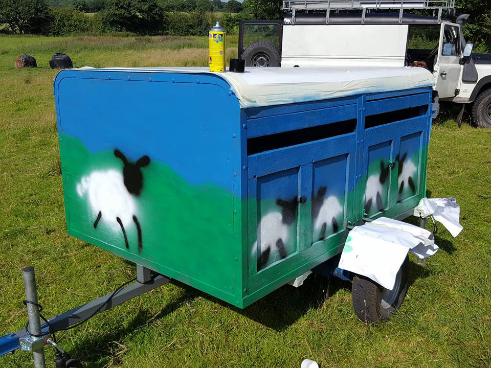 Sheep Trailer Mark One