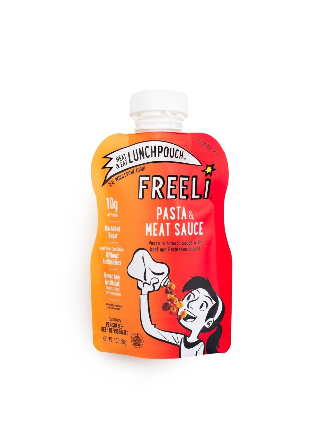 Freeli Foods | Lunchpouch | Pasta and meat sauce | Product.jpeg