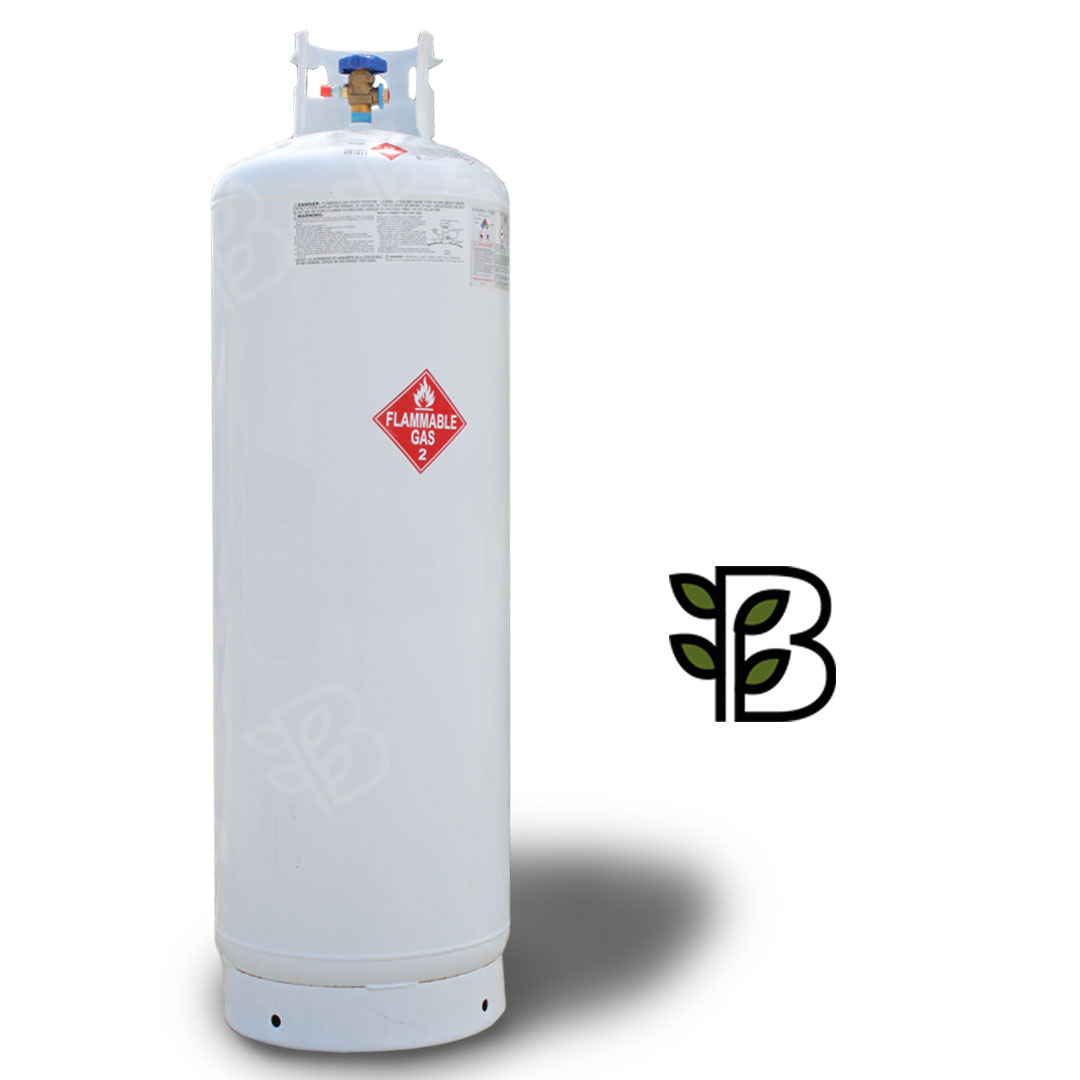 120 lb. Butane - - Offering a product that is clean, colorless and odorless.- Cylinder is fitted with a 1/4″ male SAE flare fitting on the valve assembly.- Actual liquid weight is 120 lb.- Cylinder from Manchester TankMore details →