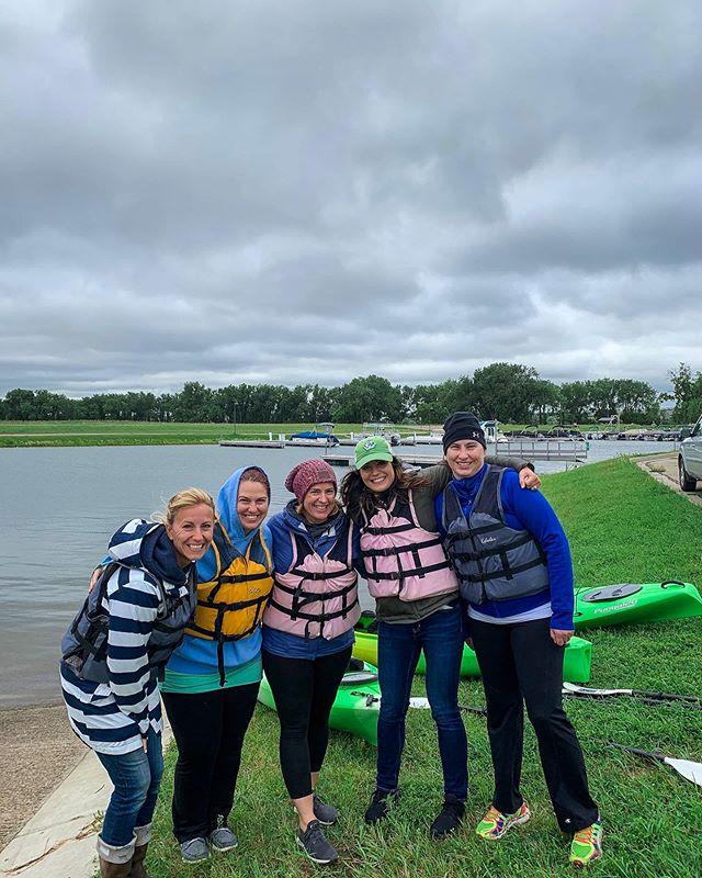 A little chilly breeze never hurt anybody ;) We had so much fun with this BPS teacher team today! 🌬🚣🏼♀️ #bismarckpublicschools #missourikayakadventures #kayaking #adventure #getoutside #gopaddle #ndlegendary