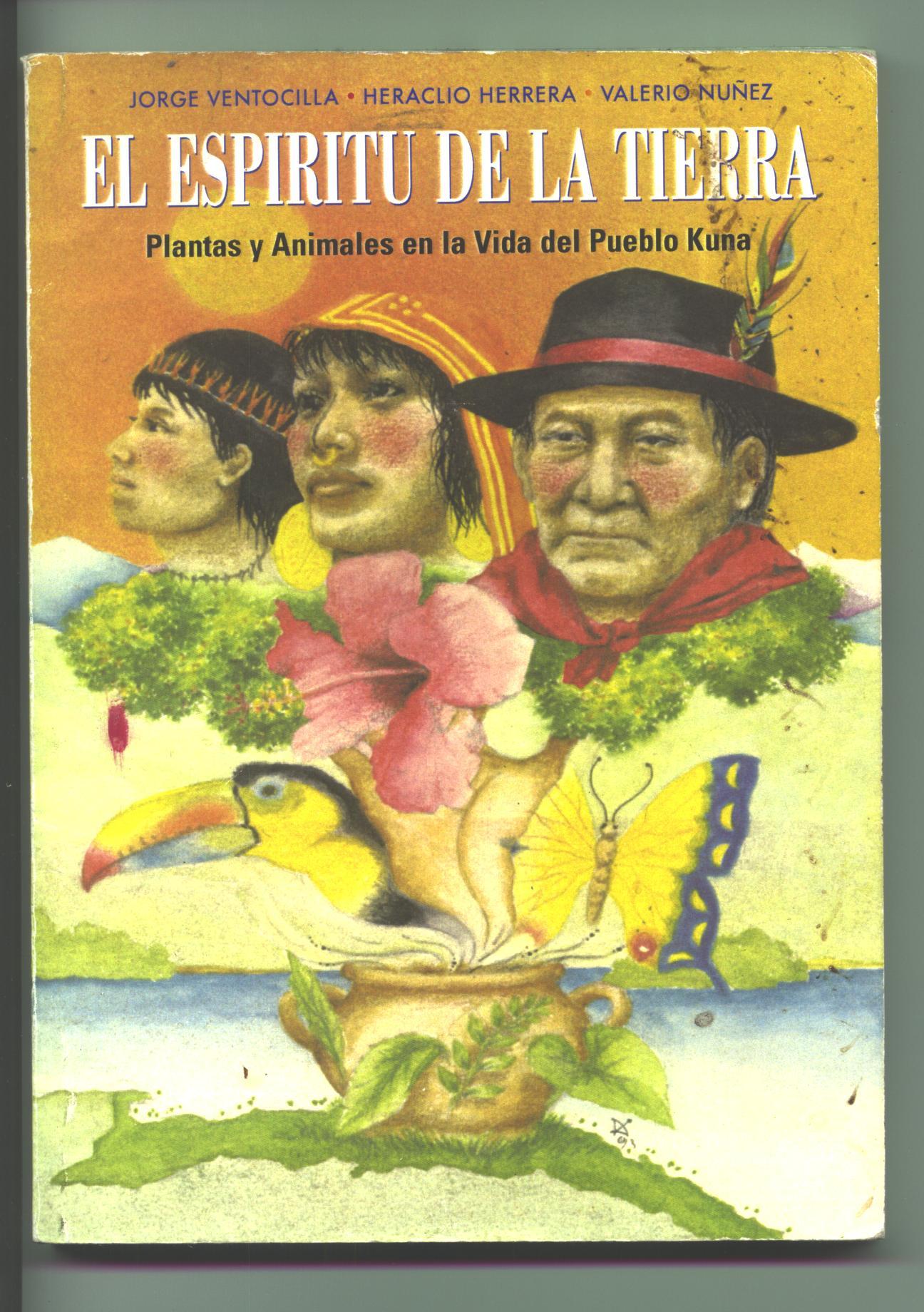 """Portada de """"Plantas y Animales en la Vida del Pueblo Kuna"""", libro producto de muchos viajes por Guna Yala ( http://www.fundaciontierra.es/sites/default/files/web_antiga/es/data/kunas.pdf )"""