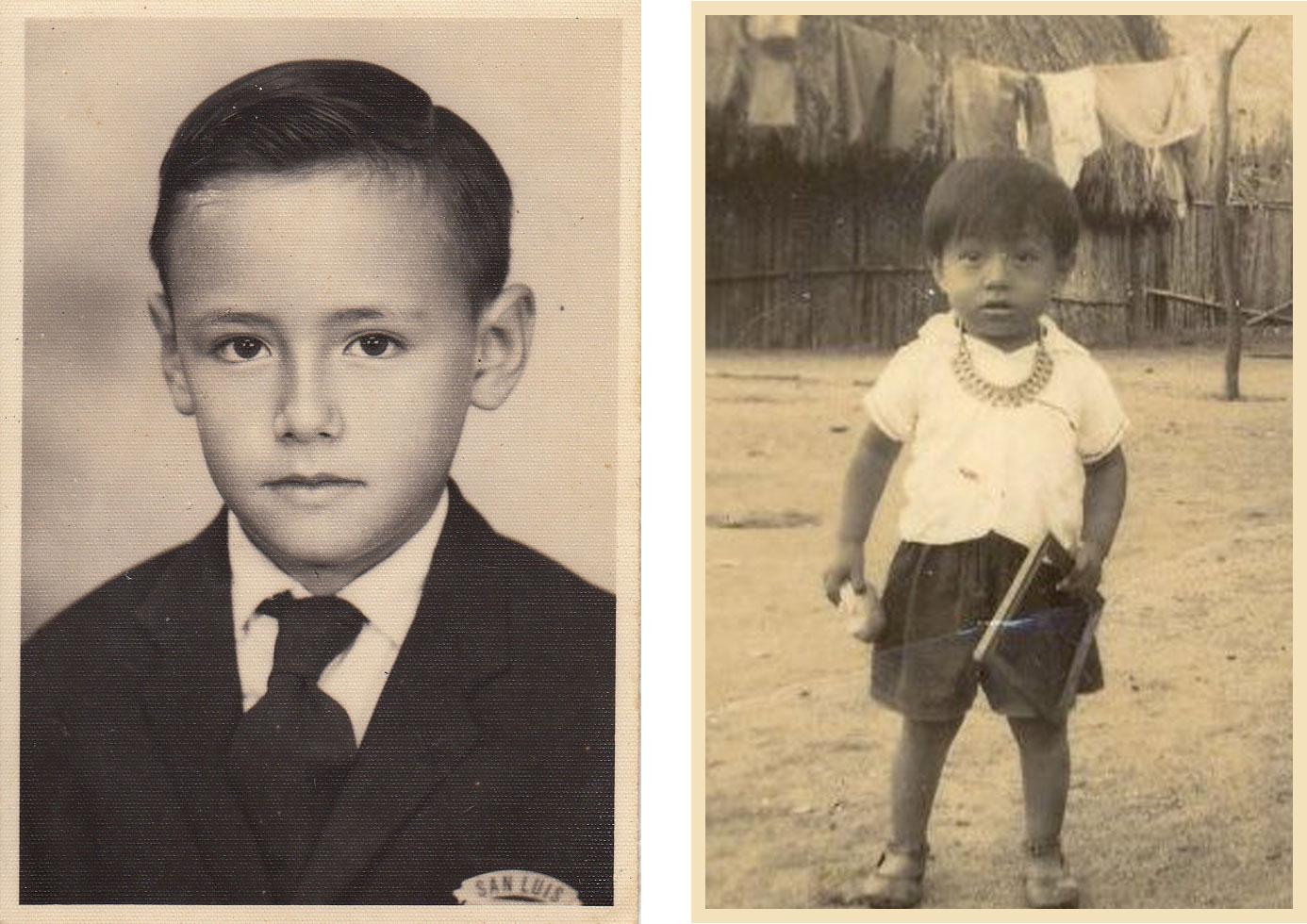 Jorge (izquierda) y Cebaldo (derecha).