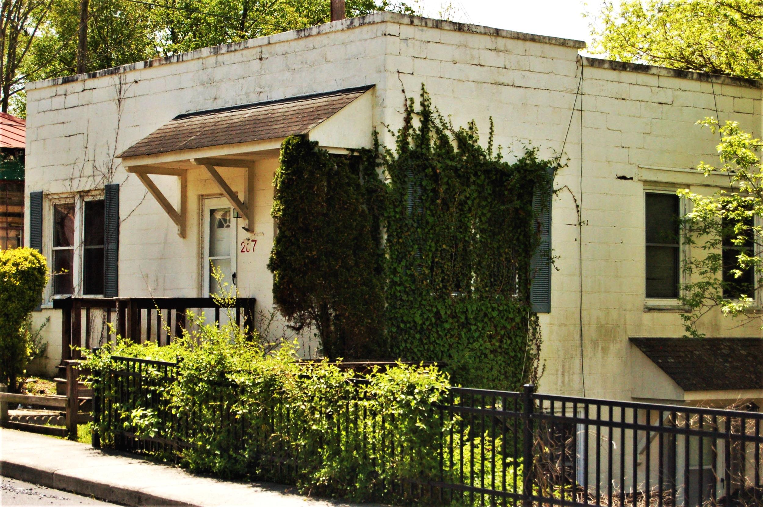 Eric Lewis' home on Diamond Street.