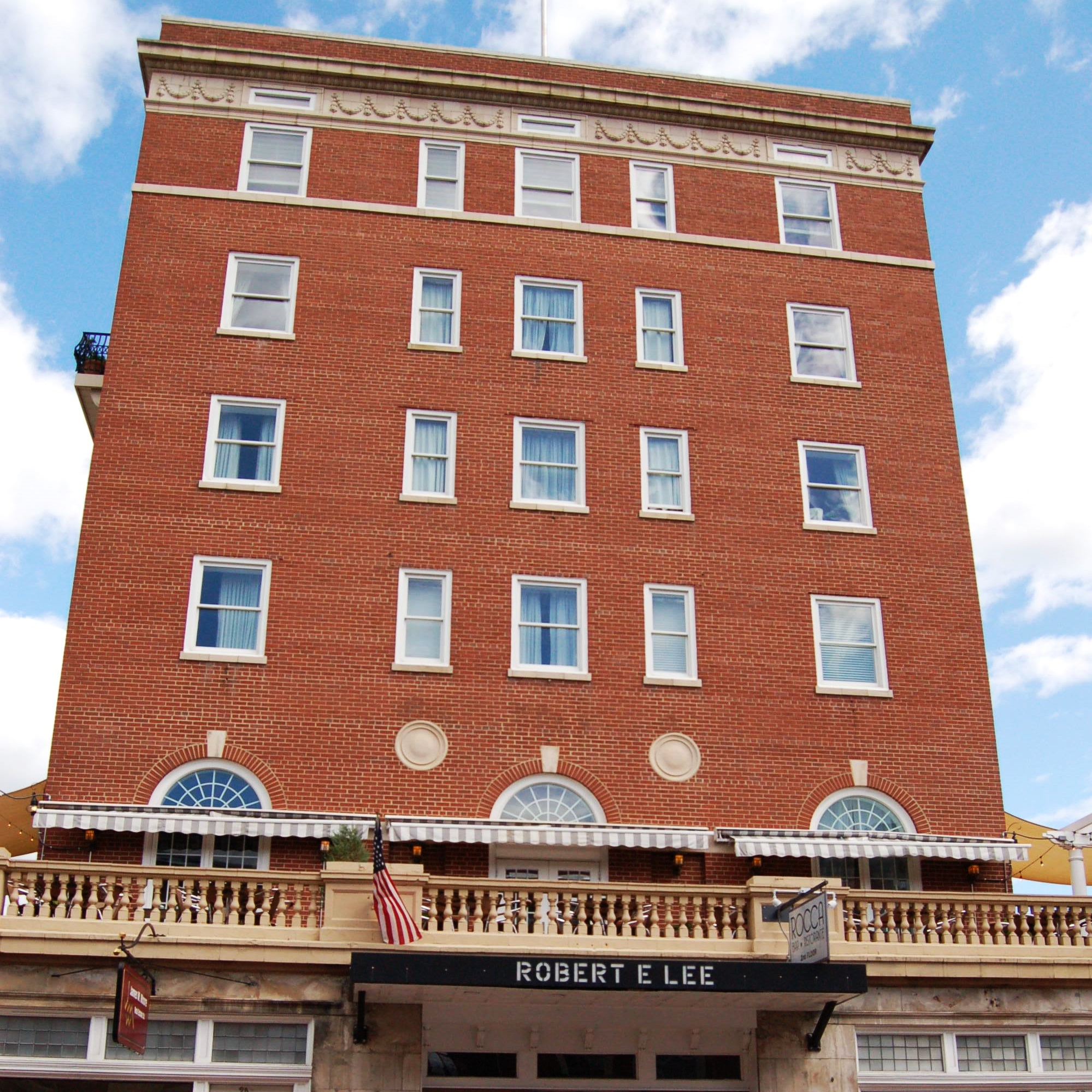The Robert E. Lee Hotel on Main Street.