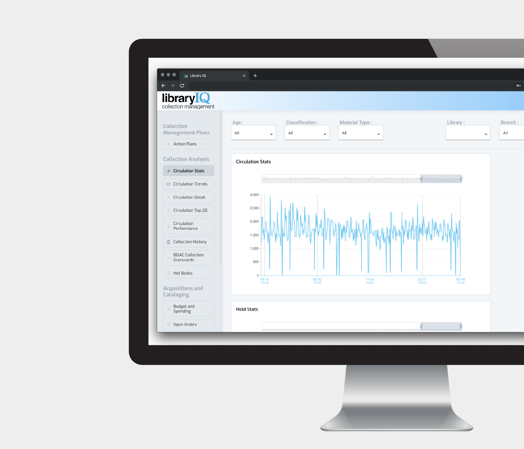 Collection Performance Monitoring & Planning - Optimize collection quality and alignment with community need through data insights. Understand critical data, develop a plan, track metrics and review performance for measurable results.