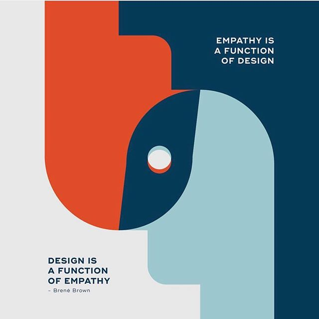 """""""Empathy is a Function of Design / Design is a Function of Empathy"""" Brene Brown . #Regram from @brenebrown . illustration by @designhausstudio . . . #BreneBrown #Design #Empathy #illustratedquote #illustration #BreneBrownQuote #Inspiration #InspirationalQuote . . .  #CreativeLiving #creativity #creative #creativelife #YourCreativeLife  #YourCreativeSelf #TheCreativeSelf #Creative  #motivate #inspire #motivational #creativityfound #creativitywellbeing #creativityforwellbeing #carveouttimeforcreativity #instacreativity  #mentor #creativementor #creativityforadults  #artforadults #findcreativity #discovercreativity"""