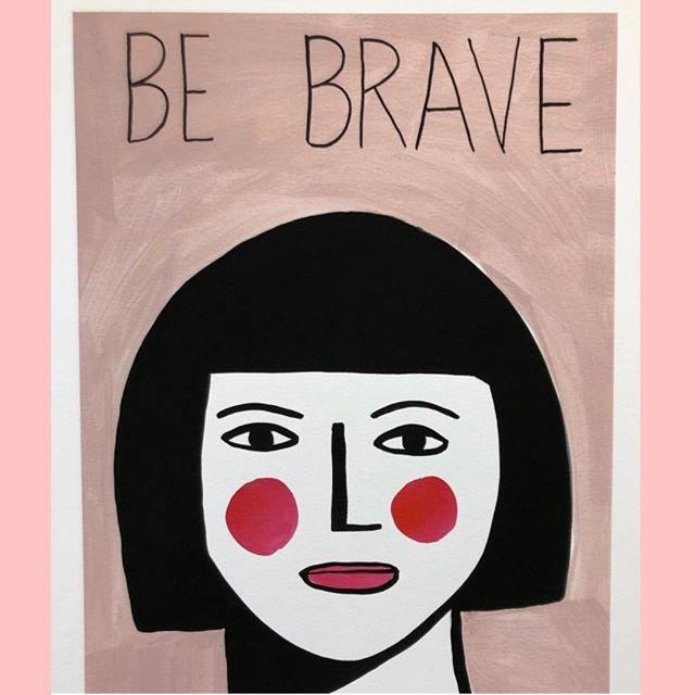 B E  B R A V E ⠀⠀⠀⠀⠀⠀⠀⠀⠀ ⠀⠀⠀⠀⠀⠀⠀⠀⠀ To be creative takes courage. To reveal that creativity to others, takes even more bravery. ⠀⠀⠀⠀⠀⠀⠀⠀⠀ ⠀⠀⠀⠀⠀⠀⠀⠀⠀ Once you embark on creativity you open yourself to a vulnerability that in turn will feed your creativity. ⠀⠀⠀⠀⠀⠀⠀⠀⠀ ⠀⠀⠀⠀⠀⠀⠀⠀⠀ Be Brave painting by @margoinmargate⠀⠀⠀⠀⠀⠀⠀⠀⠀ ⠀⠀⠀⠀⠀⠀⠀⠀⠀ #BeBrave #brave #bravery #SelfExpression #Vulnerability #CreativeVulnerability #creative #Inspiration #CreativeLiving #creativity #creative #creativelife #YourCreativeLife #YourCreativeSelf #TheCreativeSelf #motivate #inspire #vulnerablecreativity #creativityfound #creativitywellbeing #creativityforwellbeing #carveouttimeforcreativity #instacreativity  #mentor #creativementor #creativityforadults  #artforadults #findcreativity #discovercreativity Sent via @planoly #planoly