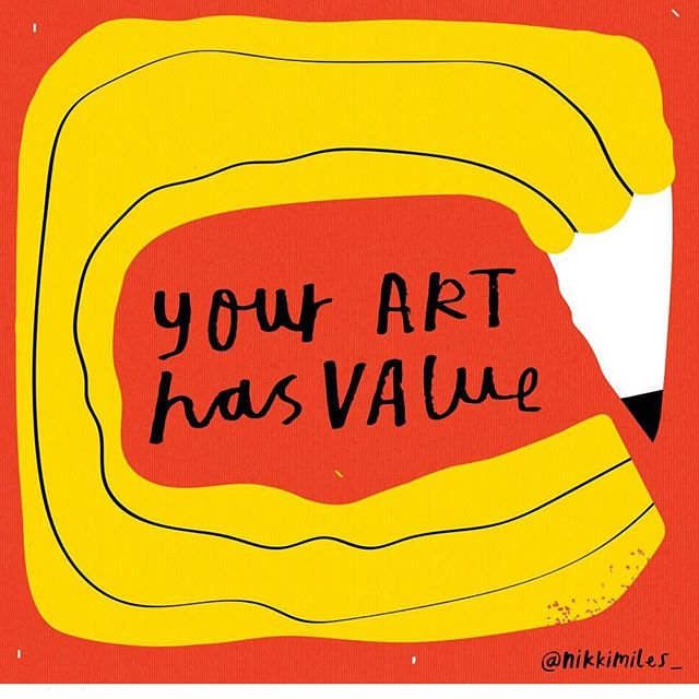 YOUR ART HAS VALUE ⠀⠀⠀⠀⠀⠀⠀⠀⠀ ⠀⠀⠀⠀⠀⠀⠀⠀⠀ Never underestimate the benefits of creativity. ⠀⠀⠀⠀⠀⠀⠀⠀⠀ ⠀⠀⠀⠀⠀⠀⠀⠀⠀ You may never have painted before. ⠀⠀⠀⠀⠀⠀⠀⠀⠀ ⠀⠀⠀⠀⠀⠀⠀⠀⠀ You may never intend to show your art to anyone but creativity has so many benefits and YOUR ART HAS VALUE! ⠀⠀⠀⠀⠀⠀⠀⠀⠀ ⠀⠀⠀⠀⠀⠀⠀⠀⠀ ⠀⠀⠀⠀⠀⠀⠀⠀⠀ ⠀⠀⠀⠀⠀⠀⠀⠀⠀ Creativity is good for the soul. ⠀⠀⠀⠀⠀⠀⠀⠀⠀ ⠀⠀⠀⠀⠀⠀⠀⠀⠀ ⠀⠀⠀⠀⠀⠀⠀⠀⠀ ⠀⠀⠀⠀⠀⠀⠀⠀⠀ Creativity is the perfect Mindful experience. ⠀⠀⠀⠀⠀⠀⠀⠀⠀ ⠀⠀⠀⠀⠀⠀⠀⠀⠀ ⠀⠀⠀⠀⠀⠀⠀⠀⠀ ⠀⠀⠀⠀⠀⠀⠀⠀⠀ Creativity boosts your well-being. ⠀⠀⠀⠀⠀⠀⠀⠀⠀ ⠀⠀⠀⠀⠀⠀⠀⠀⠀ Creativity connects you to your emotions. ⠀⠀⠀⠀⠀⠀⠀⠀⠀ ⠀⠀⠀⠀⠀⠀⠀⠀⠀ Never underestimate the power of Your Creative Self. ⠀⠀⠀⠀⠀⠀⠀⠀⠀ ⠀⠀⠀⠀⠀⠀⠀⠀⠀ Be brave and create. ⠀⠀⠀⠀⠀⠀⠀⠀⠀ ⠀⠀⠀⠀⠀⠀⠀⠀⠀ ⠀⠀⠀⠀⠀⠀⠀⠀⠀ ⠀⠀⠀⠀⠀⠀⠀⠀⠀ Illustration by @nikkimiles_ ⠀⠀⠀⠀⠀⠀⠀⠀⠀ ⠀⠀⠀⠀⠀⠀⠀⠀⠀ ⠀⠀⠀⠀⠀⠀⠀⠀⠀ If you want to reconnect with Your Creative Self in a safe supportive environment, with laughter, good food and creative play then check out: ⠀⠀⠀⠀⠀⠀⠀⠀⠀ A CREATIVE LIVING RETREAT  Saturday 15th June 5pm-8pm @grainandhearth #whitstable ⠀⠀⠀⠀⠀⠀⠀⠀⠀ ⠀⠀⠀⠀⠀⠀⠀⠀⠀ ⠀⠀⠀⠀⠀⠀⠀⠀⠀ This is a small event, so secure your place now to avoid disappointment. All details and booking are in the link in profile. ⠀⠀⠀⠀⠀⠀⠀⠀⠀ ⠀⠀⠀⠀⠀⠀⠀⠀⠀ For more info, see the Popular Links in profile www.yourcreativeself.co.uk ⠀⠀⠀⠀⠀⠀⠀⠀⠀ ⠀⠀⠀⠀⠀⠀⠀⠀⠀ #Retreat #CreativeRetreat #whitstableRetreat #Hernebay #canterbury #Margate #creative #Inspiration #CreativeLiving #creativity #creative #creativelife #YourCreativeLife #YourCreativeSelf #TheCreativeSelf #motivate #inspire #creativityfound #creativitywellbeing #creativityforwellbeing #carveouttimeforcreativity #instacreativity  #mentor #creativementor #creativityforadults  #artforadults #findcreativity #discovercreativity #whitstable #faversham