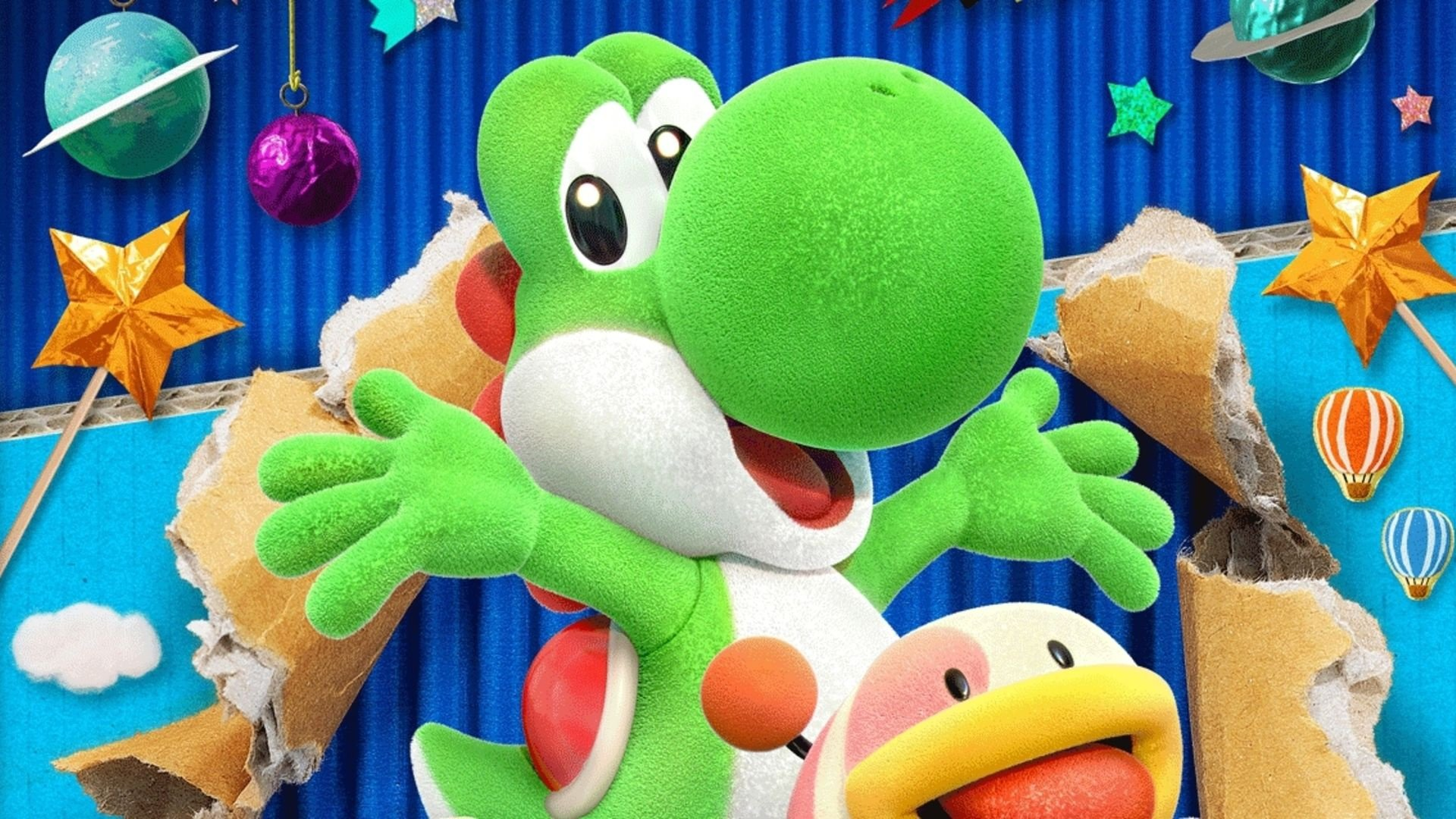 Yoshi's crafted world is charming, If uNderwhelminG -
