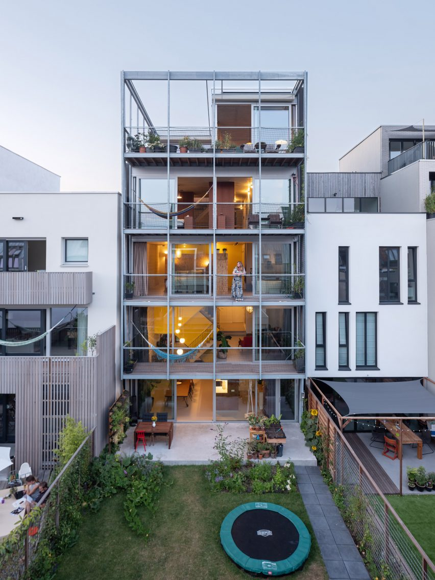 Three Generation House via Designboom
