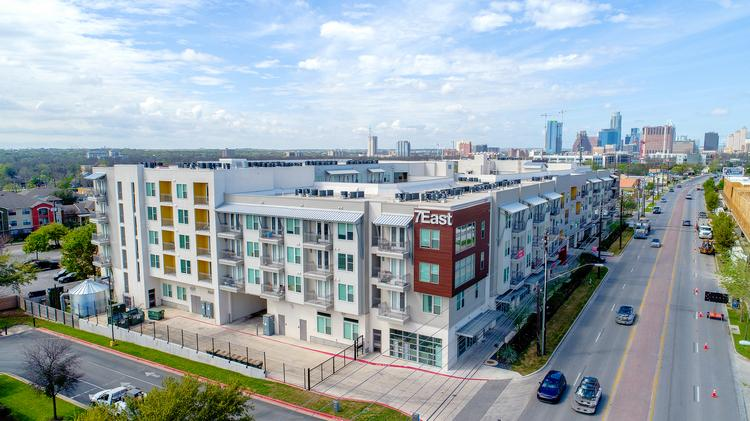 Drive-By Urbanism on 7th Street in East Austin, image via Austin Business Journal