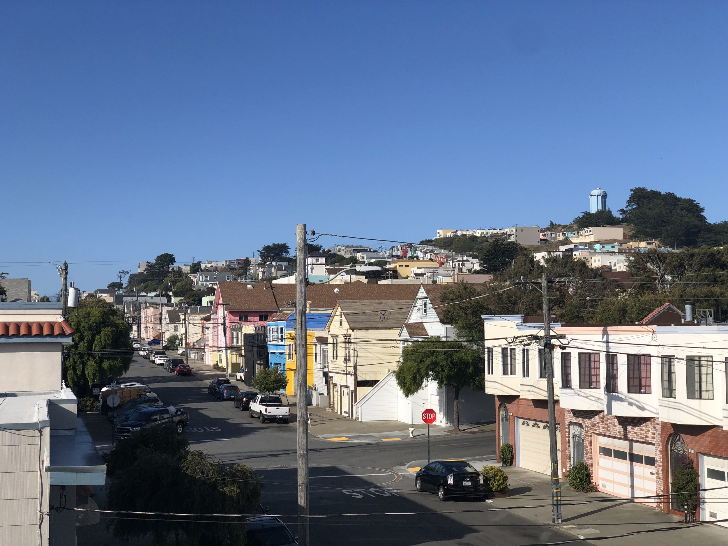 The Excelsior neighborhood, an example of the low-rise housing that exists across SF