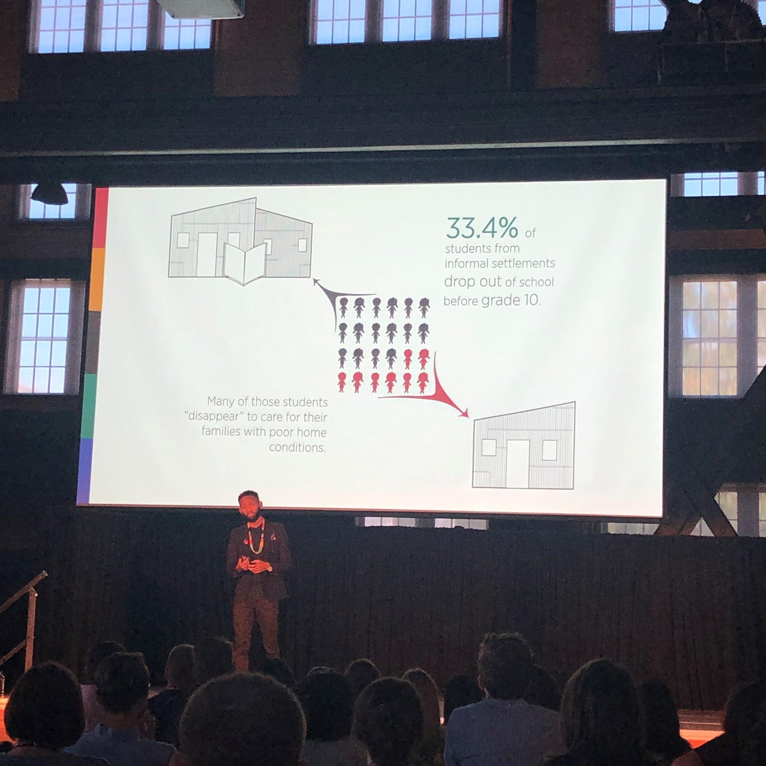 A presentation by Wandile Mthiyane, founder of  Ubuntu Design Group