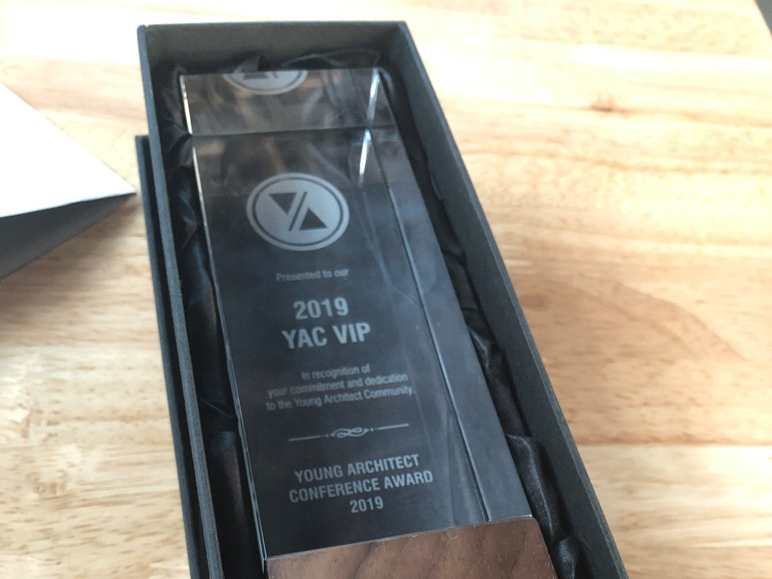 I was named MVP of the conference (which, wow.)