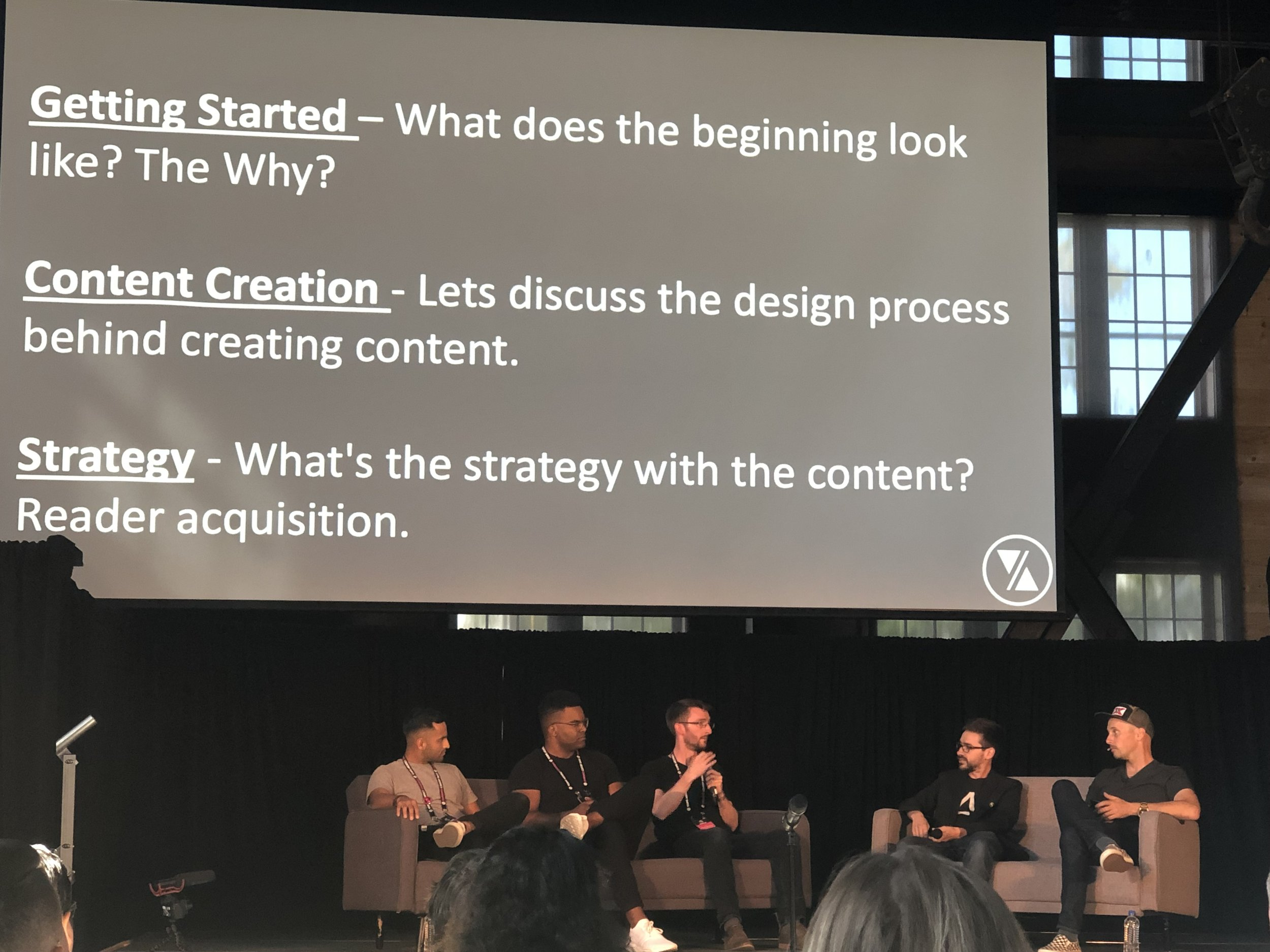 A discussion on content creation with Mike, Drew, Sean Joyner of Archinect, Paul David Keskeys of Architizer, and  Youtuber  Joseph Echavarria