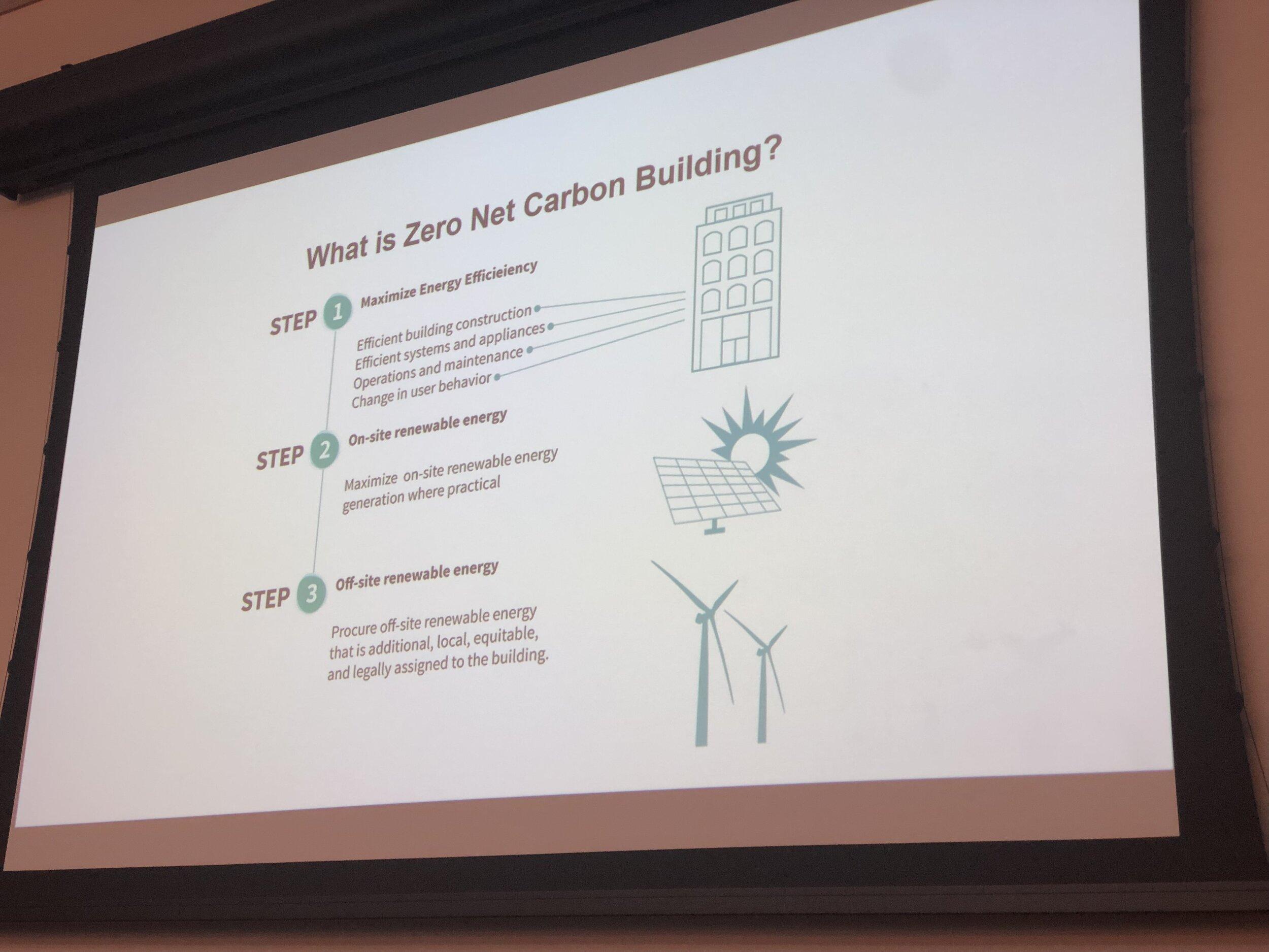 Zero Net Carbon Building