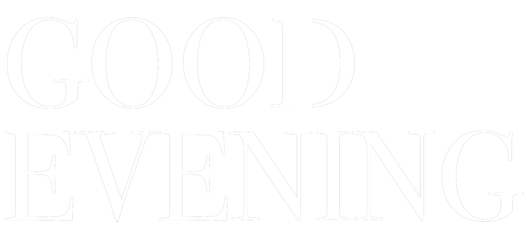 Good Evening_Logo Lockup_White.png